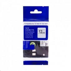 PrintLine kompatibilní páska s Brother TZE-531, 12mm x 8m, černý tisk / modrý podklad
