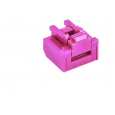 SmartKeeper Basic RJ45 Port Lock 12 - 12x záslepka, růžová