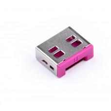 SmartKeeper Basic USB Port Lock 100 - 100x záslepka, růžová