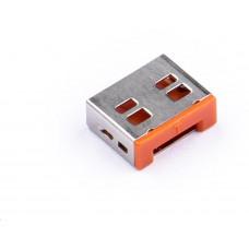 SmartKeeper Basic USB Port Lock 10 - 10x záslepka, oranžová