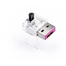 SmartKeeper Basic LAN Cable Lock 12 - 12x záslepka, růžová