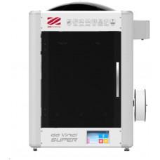 XYZ 3D tiskárna XYZ da Vinci Super (ABS, PLA,Nylon,PC,PETG,TPE,PVA,30x30x30cm,50-400 mikronů, USB