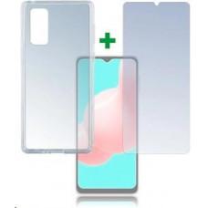4smarts 360° Protection set (tvrzené sklo + gelový zadní kryt) pro Samsung Galaxy A32 5G