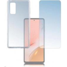 4smarts 360° Protection set (tvrzené sklo + gelový zadní kryt) pro Samsung Galaxy A72