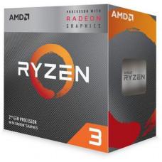 AMD cpu Ryzen 3 3200G AM4 Box s grafikou Radeon Vega 8 (s chladičem, 3.6GHz / 4.0GHz, 4MB cache