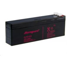 Long Alarmguard 12V 2,6Ah olověný akumulátor F1