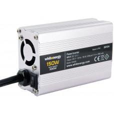 WHITENERGY WE Měnič napětí DC/AC 12V / 230V, 150W, USB, mini