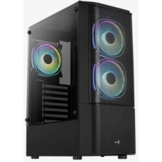AEROCOOL Quantum Mesh case (USB3+audio, bez zdroje)