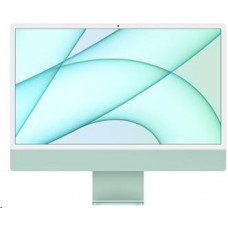 Apple 24-inch iMac with Retina 4.5K display: M1chip with 8-core CPU and 7-core GPU, 256GB - Green