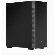CORSAIR 110Q, odhlučněný černý Midi-Tower ATX PC Case, USB3 + audio, bez zdroje