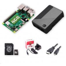 Raspberry Sada Zonepi Pi 4B/4GB, (SDXC karta 64GB + adaptér, Pi4 Model B, Cooler Master, HDMI