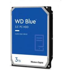 WD  WD30EZAZ hdd 3TB SATA3-6Gbps 5400rpm 256B WD Blue 180MB/s SMR