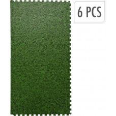 rohož podlahová 40x40x1cm TRÁVA ZE (6ks)