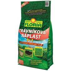 FLORIA náplast trávníková 1kg 3 v 1