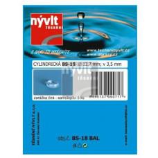 NÝVLT doraz samolep.cylindr.pr.12,7x3,5mm TRA  BS-1 (5ks)