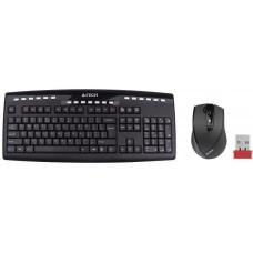 A4-tech A4tech 9200F set bezdr. kláv. + bezdr. V-Track optická myš,CZ/US, USB