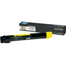 LEXMARK - Extra vysoká výtěžnost - žlutá - originální - kazeta s barvivem LCCP - pro Lexmark