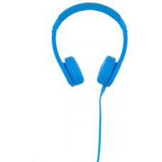 Buddyphones Explore+  dětská drátová sluchátka s mikrofonem, světle modrá