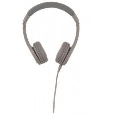 Buddyphones Explore+  dětská drátová sluchátka s mikrofonem, světle šedá