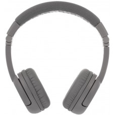 Buddyphones Play+  dětská bluetooth sluchátka s mikrofonem, světle šedá