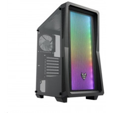 FORTRON/FSP FSP/Fortron ATX Midi Tower CMT212A Black, A.RGB light bar