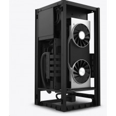 NZXT case H1 / mini ITX / 140 mm AIO chladič / 650W SFX-L 80Plus Gold modulární zdroj/riser