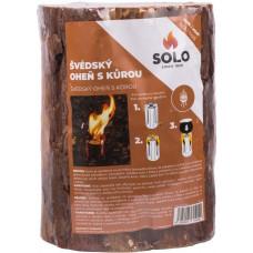 SOLO oheň švédský s kůrou