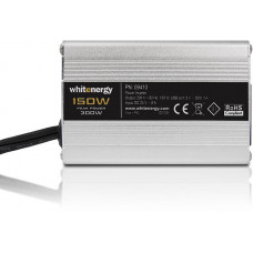 WHITENERGY WE Měnič napětí DC/AC 24V / 230V, 150W, USB, mini