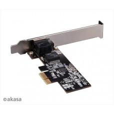 AKASA 2.5 Gigabit PCIe síťová karta