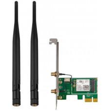 TENDA E30 Wireless AX PCI Express Adapter AX3000, WiFi6, Bluetooth 5.0, WPA3, 2x 5 dBi, Win10