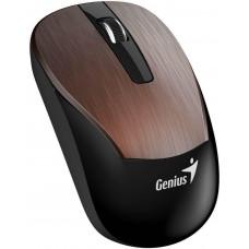 Genius ECO-8015 Myš, bezdrátová, optická, 1600dpi, dobíjecí,USB, kávová