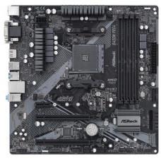ASROCK MB B450M PRO4 R2.0 (AM4, amd B450, 4xDDR4 3200, 4xSATA3, 7.1, USB3.1, VGA+DVI +HDMI, mATX)