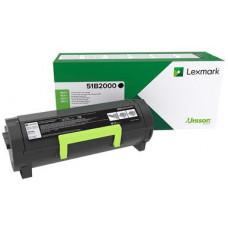 LEXMARK - Černá - originální - kazeta s barvivem LCCP, LRP - pro Lexmark MS317dn, MS417dn, MX317dn