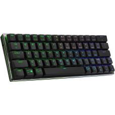 Cooler Master SK622,Bluetooth herní klávesnice, TTC Low RED Switch, RGB LED, US layout, černá