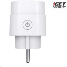 IGET SECURITY EP16 - chytrá zásuvka 230V,  pro alarm iGET M5, 2200 W