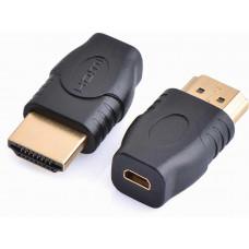 PremiumCord Adapter micro HDMI Typ D samice - HDMI Typ A samec