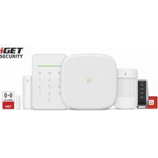 IGET SECURITY M5-4G Premium - Inteligentní 4G/WiFi/LAN alarm, ovládání kamer a zásuvek, Android