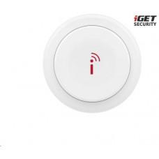 IGET SECURITY EP7 - bezdrátové nastavitelné Smart tlačítko a zvonek pro alarm M5