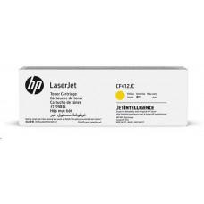 HP CF412JC Yellow Contract Original LaserJet Toner Cartridge (6,000 pages)