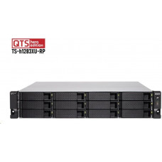 QNAP TS-h1283XU-RP-E2236-32G  (Xeon 3,4GHz, ZFS, 12xSATA, 32GB ECC RAM, 4xGbE, 2x10G SFP+, 2x10GbE)