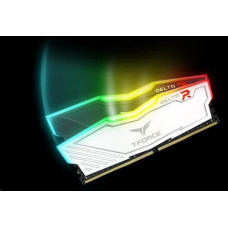 TEAMGROUP DIMM DDR4 16GB 3200MHz, CL16, (KIT 2x8GB), T-FORCE DELTA RGB (Black)