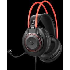 A4-tech A4tech Bloody G200 , herní sluchátka s mikrofonem, 7 barev podsvícení, single jack + USB