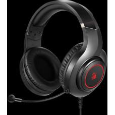 A4-tech A4tech Bloody G220, herní sluchátka s mikrofonem, 7 barev podsvícení, single jack + USB