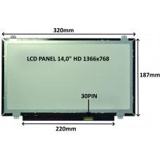 SIL LCD PANEL 14,0