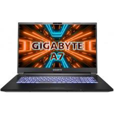 GIGABYTE A7 X1 AMD Ryzen 9 5900HX Černá