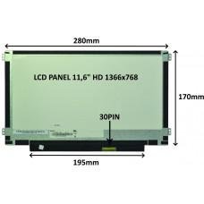 SIL LCD PANEL 11,6