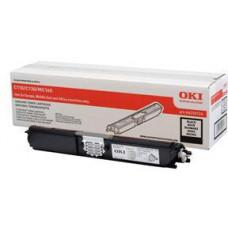 OKI - Černá - originální - kazeta s barvivem - pro OKI MC160n; C110, 130n