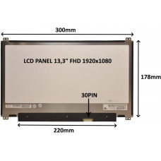 SIL LCD PANEL 13,3