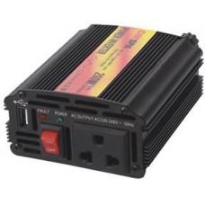 CARSPA Měnič napětí Carspa CAR200U-12, 12V/230V+USB 200W modifikovaná sínus