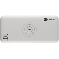 NATEC bezdrátová powerbanka TREVI 10 000mAH, bílá